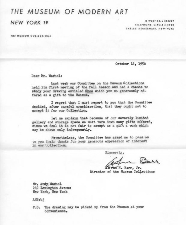 Famous Rejection Letters