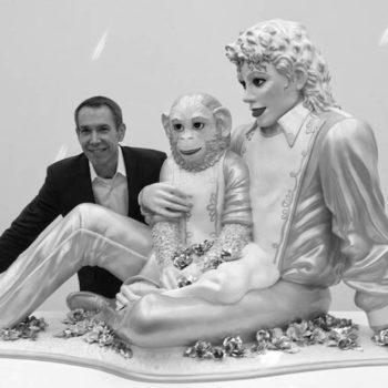 Michael Jackson sculpture at Switzerland Exhibition