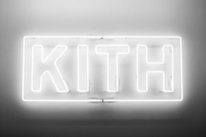 Kith neon leters